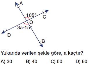 6. sınıf açılar, ters açılar, komşu açılar, tümler açılar, bütünler açılar testi çöz pdf indir