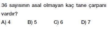 6. sınıf asal çarpanlar testi çöz indir