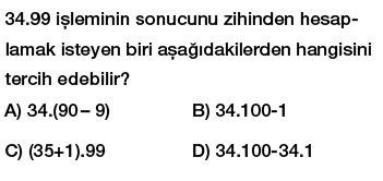 6.Sınıf ortak çarpan parantezine alma ve dağılma özelliği testi çöz indir
