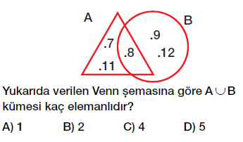 6. sınıf kümelerde birleşim ve kesişim işlemleri testi çöz cevaplı indir