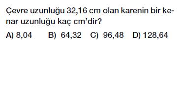 6. sınıf ondalık gösterim problemleri testi çöz indir