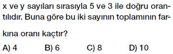 7. Sınıf doğru orantı testi çöz, pdf indir